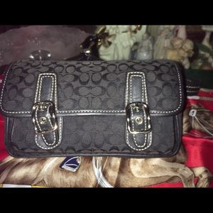 Coach Signature Fanny Pack Waist Bag